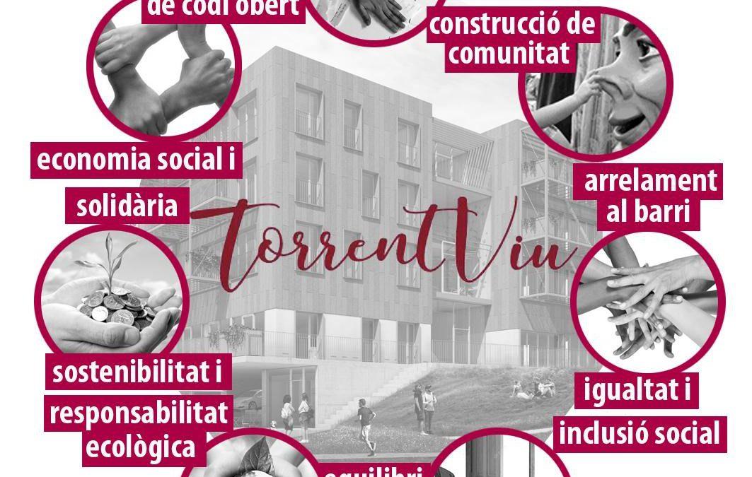 Torrent Viu, Cooperativa d'habitatges a Sarrià, Barcelona
