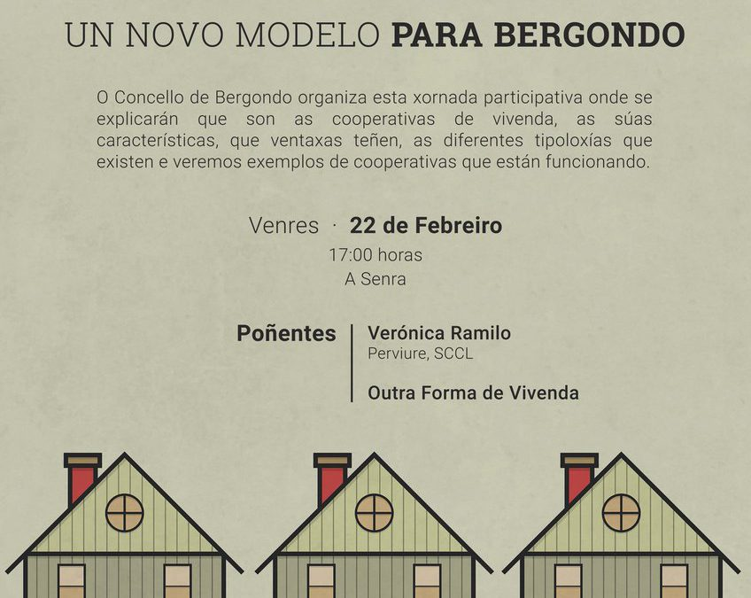 Implantació de les cooperatives d'habitatge en cessió d'ús a Bergondo, Galicia
