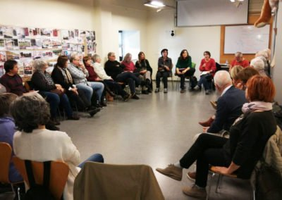 Acompanyament cooperativa de gent gran Walden XXI a Sant Feliu de Guíxols, Girona