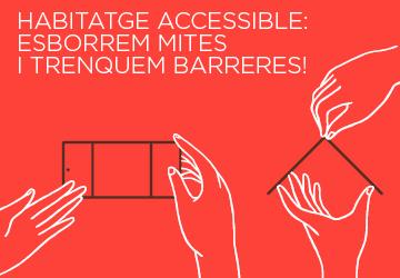 24 Octubre | Xerrada d'ECOM: Habitatge accessible. Esborrem mites i trenquem barreres!