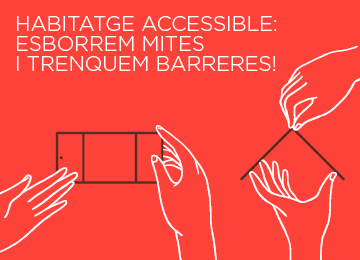 14 Octubre | Xerrada d'ECOM: Habitatge accessible. Esborrem mites i trenquem barreres!