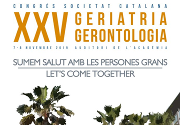 7 Novembre | Xerrada al 25è congrés de Geriatria i Gerontologia: sumem salut amb la persones grans