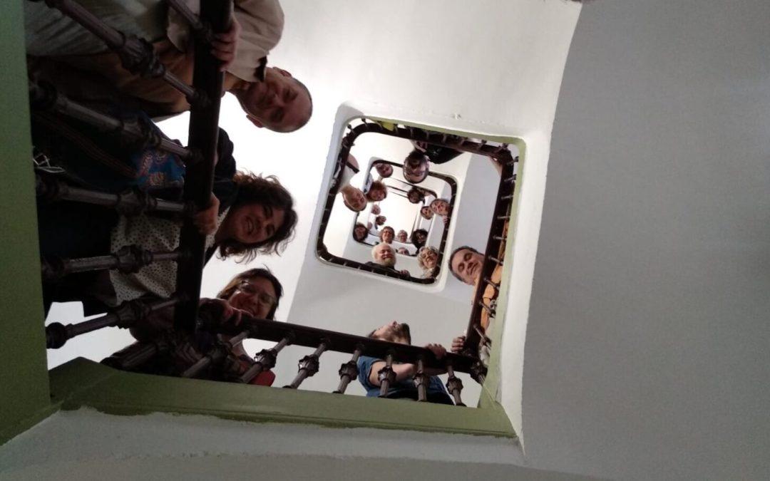 Acabem el cicle de càpsules formatives amb una trobada virtual amb la comunitat de la cooperativa d'habitatge Princesa49